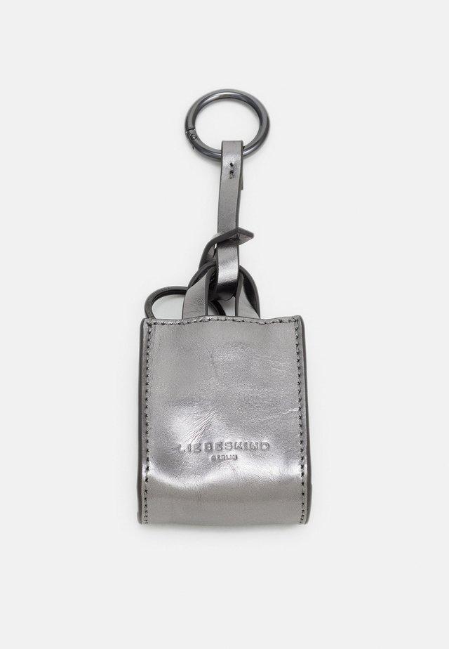 KEYRING - Avainkotelo - silver lead