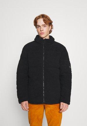 BORG JACKET UNISEX - Winter jacket - black