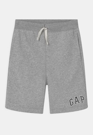 BOY LOGO  - Tracksuit bottoms - light grey heather