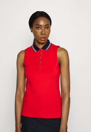 CLUB SLEEVELESS  - Polo shirt - red flame