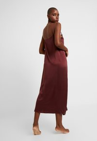 ASCENO - LONG SLIP DRESS - Nightie - rust - 2