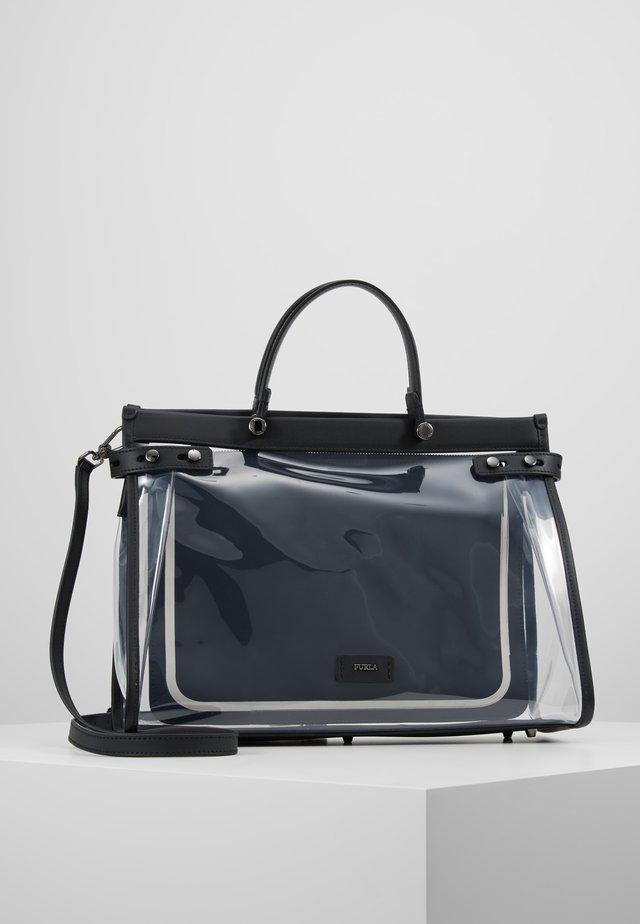 LADY TOTE - Handtasche - trasparente/toni onyx