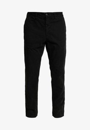 JOHNSON PANT MIDVALE - Chino kalhoty - black