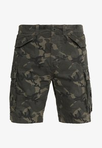 Superdry - CORE LITE RIPSTOP CARGO - Shorts - alpine camo - 4