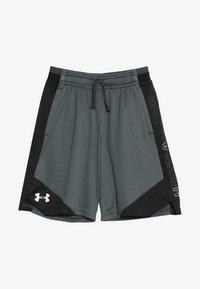 Under Armour - STUNT 2.0 SHORT - Sports shorts - pitch grey/white - 3
