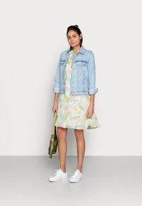 Esqualo - DRESS LAYERS VIRTUAL GARDEN - Day dress - multi-coloured - 1