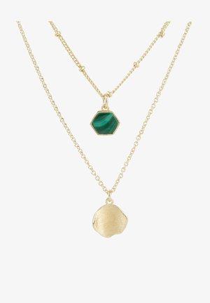 Naszyjnik - green