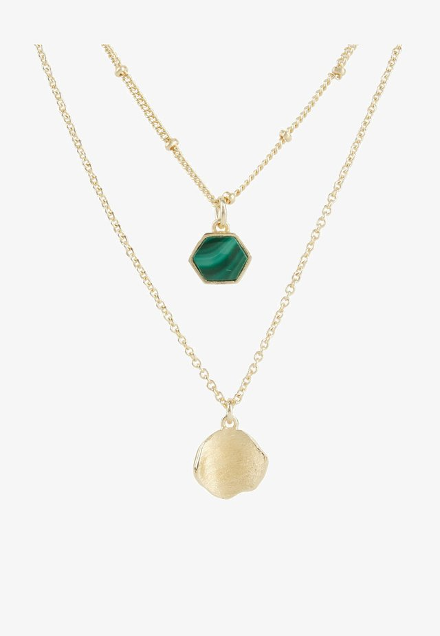 Collier - green