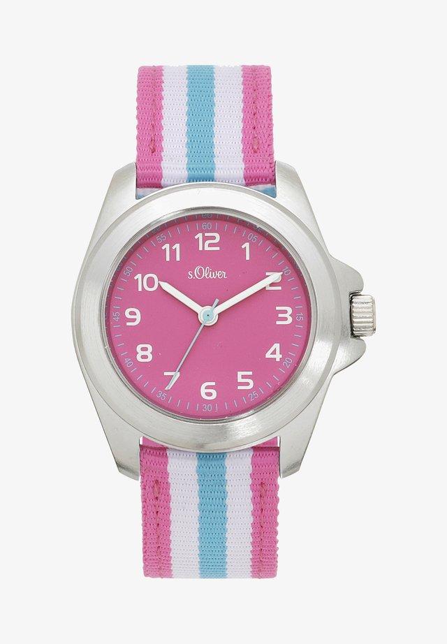 Uhr - rosa