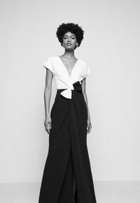 Marchesa - Suknia balowa - black/white - 4