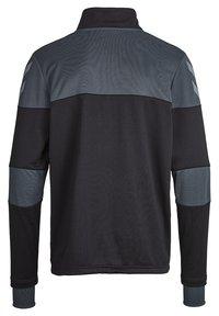 Hummel - SIRIUS HALF  - Fleece jumper - black/dark slate - 1