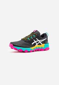 ASICS - GEL-FUJITRABUCO 8 - Trail running shoes - black/white - 1