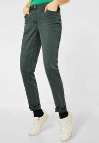 Cecil - Slim fit jeans - grün - 0