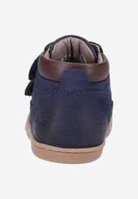 Kickers - TACKEASY - Zapatos de bebé - blue - 3
