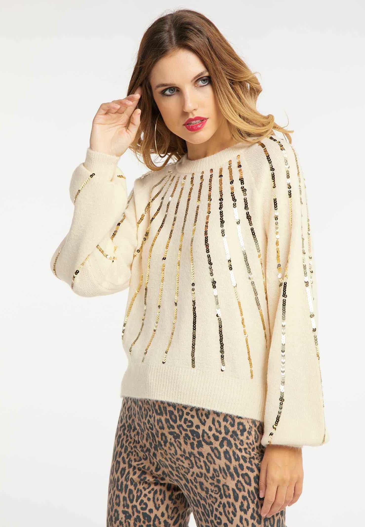 Big Sale Women's Clothing faina Jumper beige GHKpDDzYK