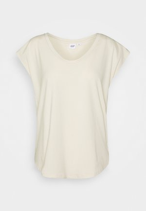SCOOP - Basic T-shirt - chino