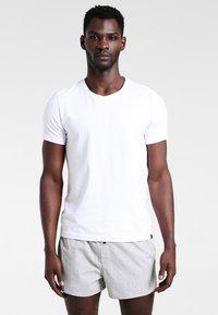 Calvin Klein Underwear - SLIM FIT 2 PACK - Boxer shorts - black/grey - 0