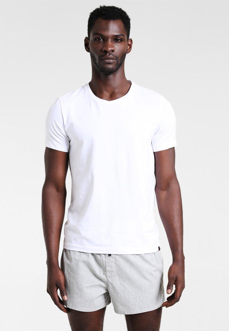 Calvin Klein Underwear - SLIM FIT 2 PACK - Boxer shorts - black/grey