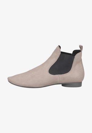 Platform ankle boots - stahl
