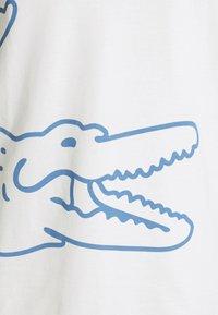 Lacoste - T-shirt print - flour - 3