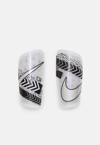 Nike Performance - Shin pads - white/black/iridescent - 0