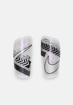 Shin pads - white/black/iridescent
