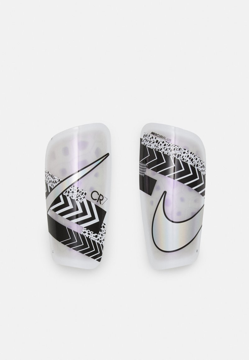 Nike Performance - Shin pads - white/black/iridescent