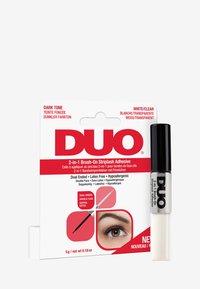 DUO - DUO 2-IN-1 BRUSH ON ADHESIVE - False eyelashes - clear/dark - 1