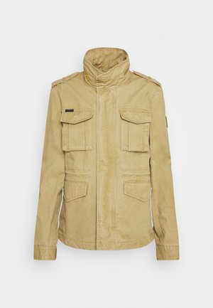 JACKET - Summer jacket - classic tan