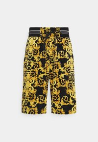 Versace Jeans Couture - TECNO PRINT LOGO BAROQU - Shorts - black - 5