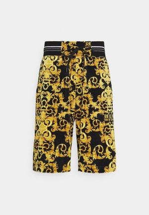 TECNO PRINT LOGO BAROQU - Shorts - black