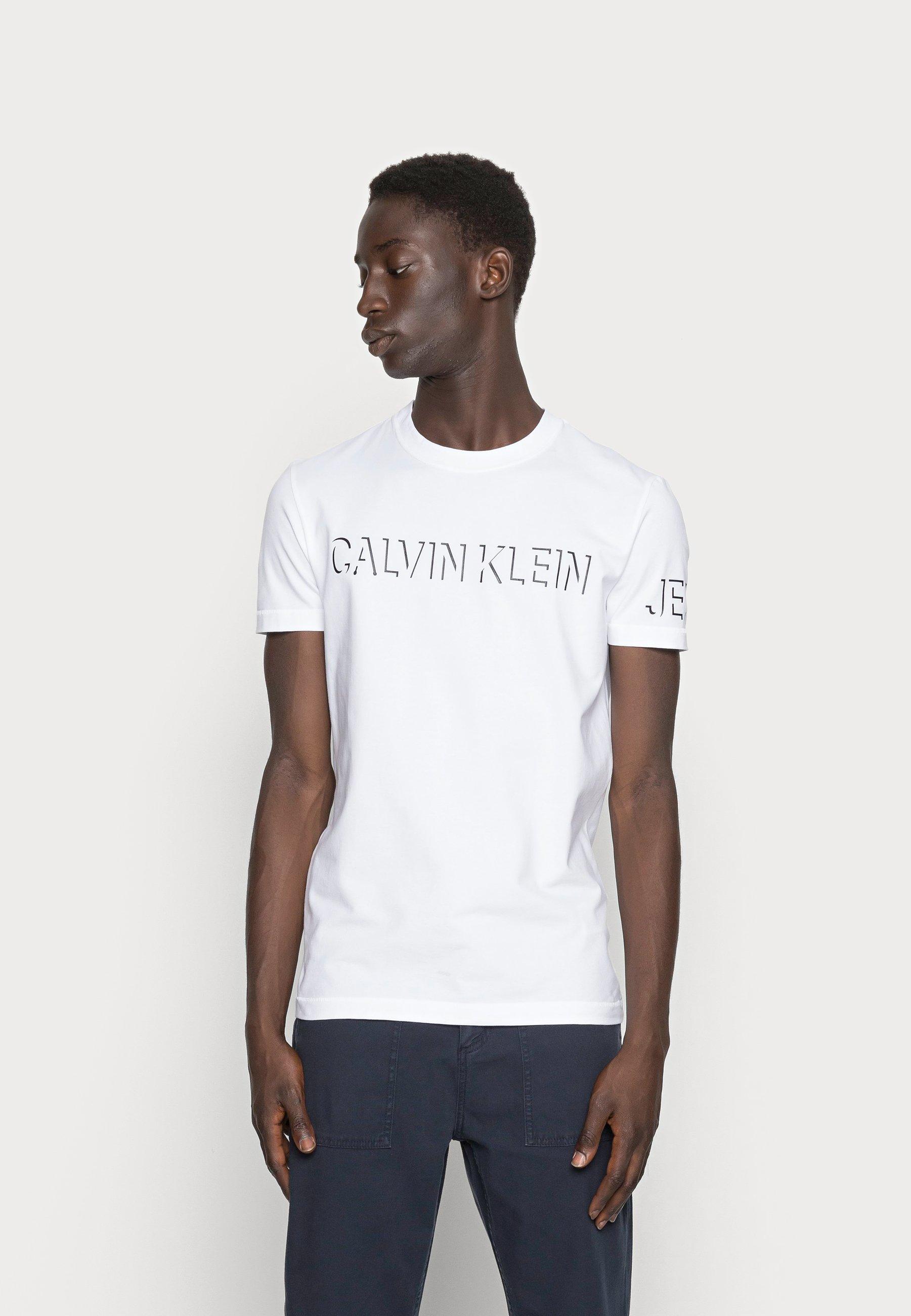 Men SHADOW LOGO TEE - Print T-shirt