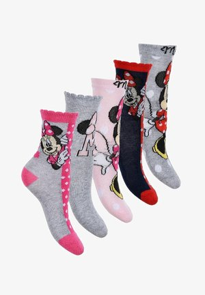 5 PAIR DISNEY MINNIE MOUSE - Socks - mehrfarbig