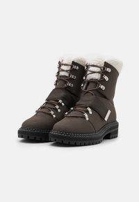 Even&Odd - Vinterstøvler - dark brown - 2