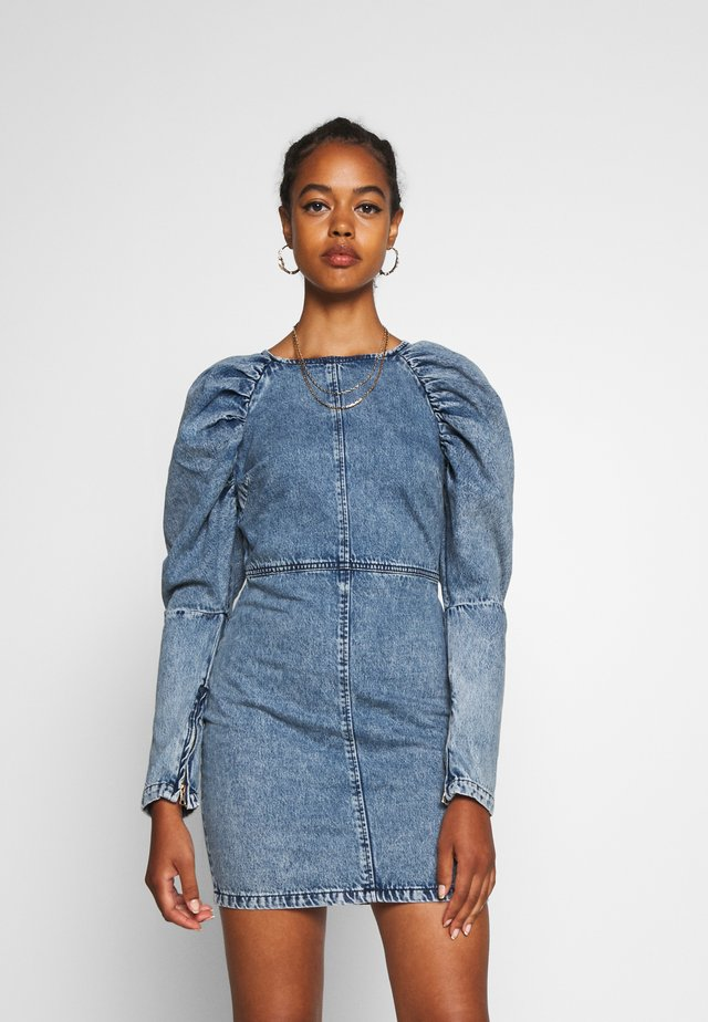 Shift dress - denim light