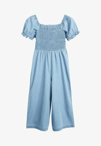 Next - DENIM SHIRRED - Tuta jumpsuit - blue - 1