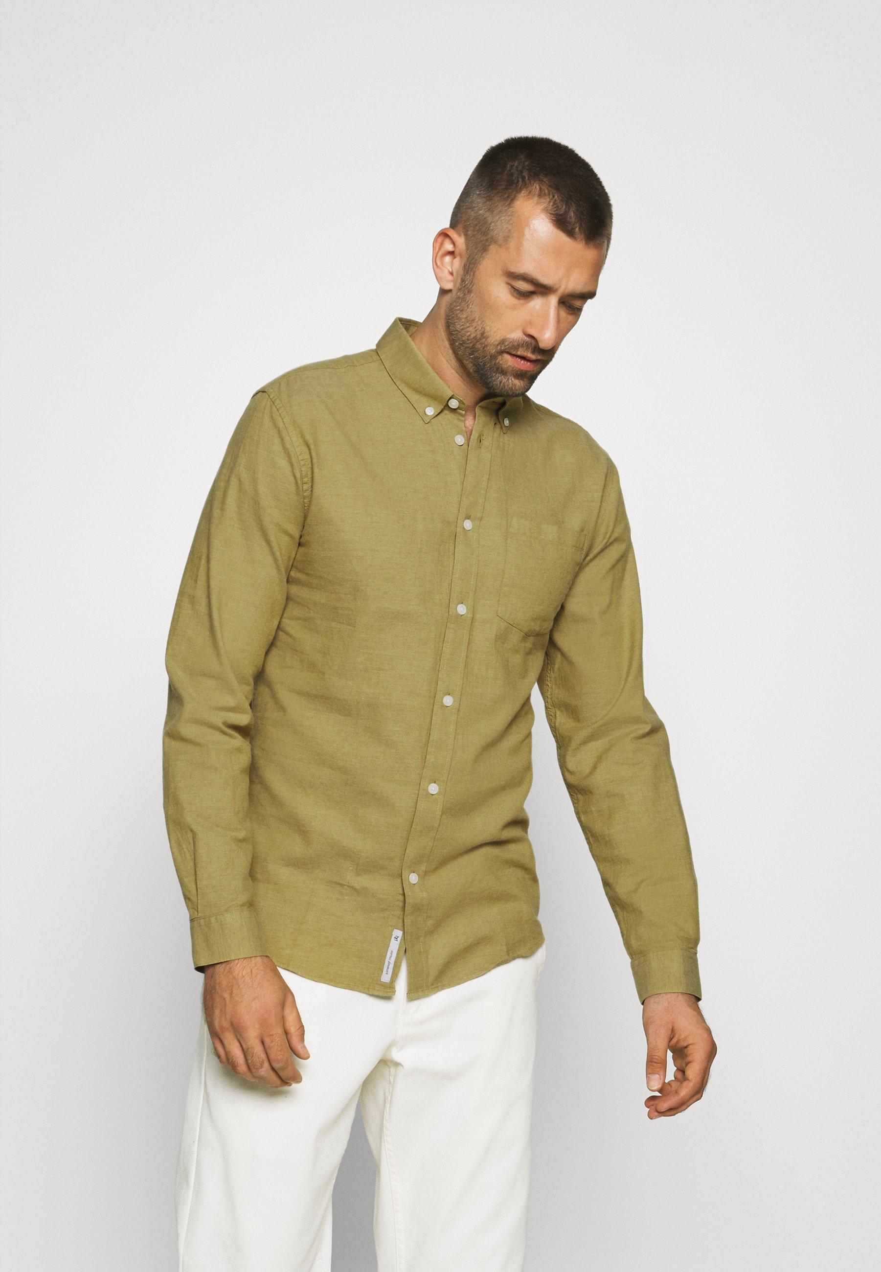 Men JAY - Shirt - khaki green