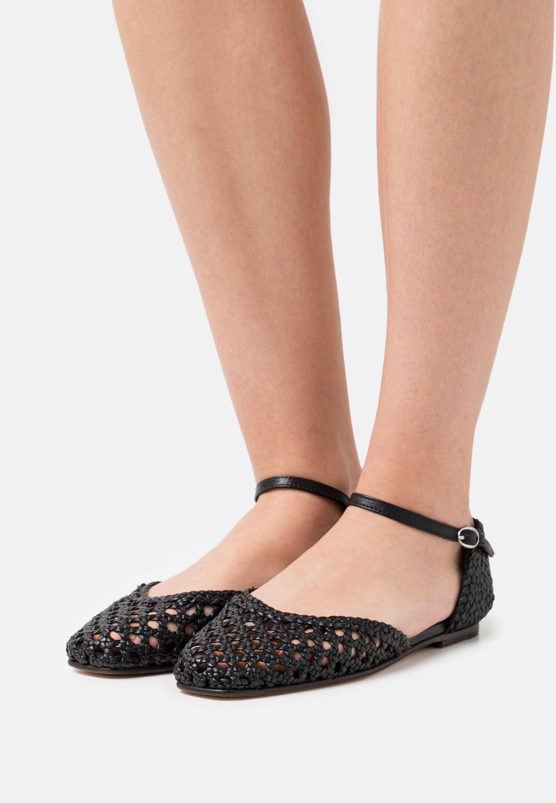 Women MELLY 9 - Ankle strap ballet pumps