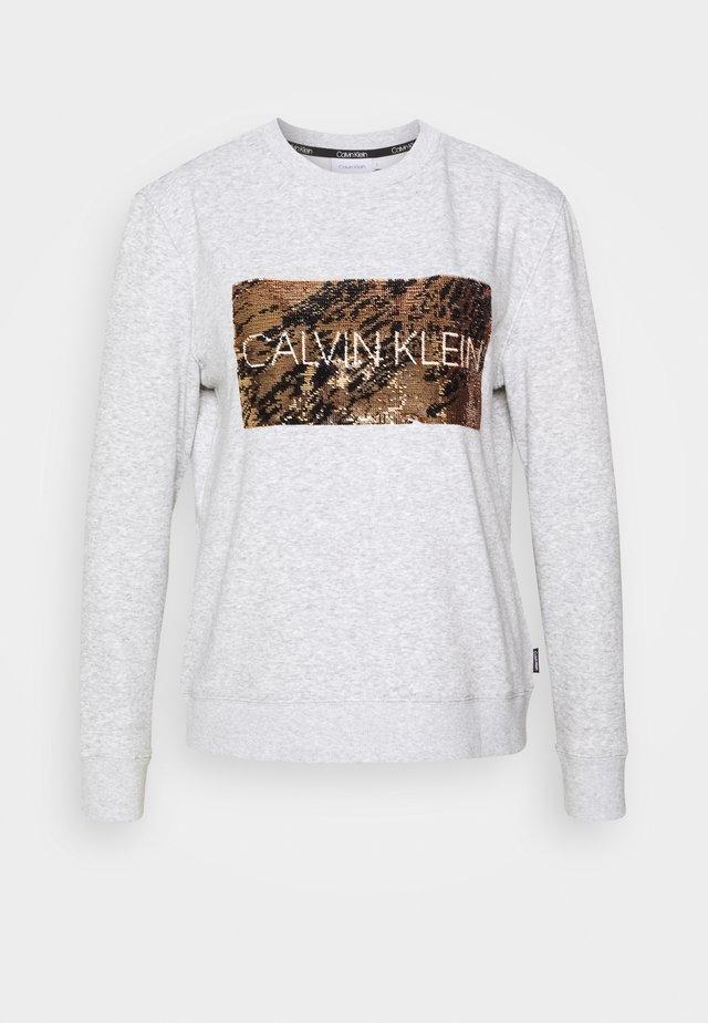 SEQUIN  - Sweater - light grey heather