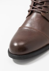Pier One - Lace-up ankle boots - brown - 5
