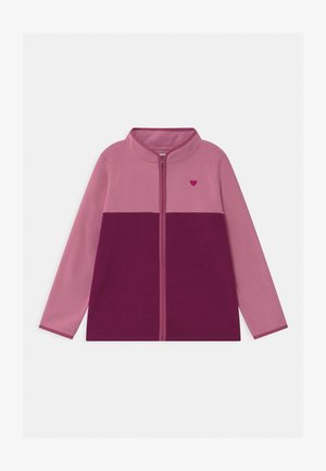 FULL ZIP - Fleece jacket - pink