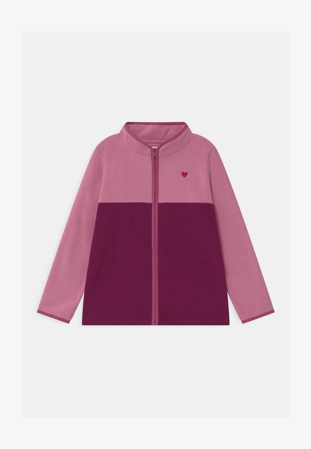 FULL ZIP - Fleecejakke - pink