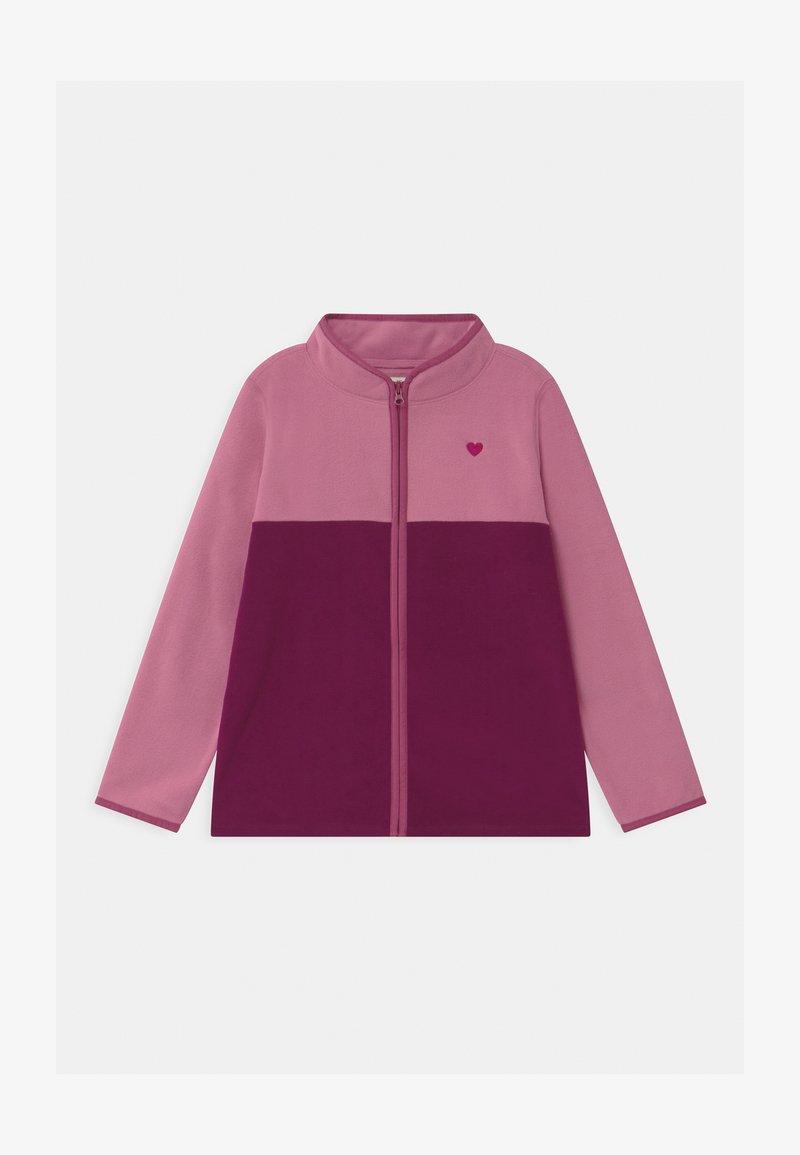 OshKosh - FULL ZIP - Fleecová bunda - pink