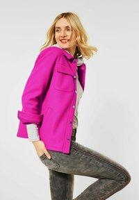 Street One - Short coat - pink - 0