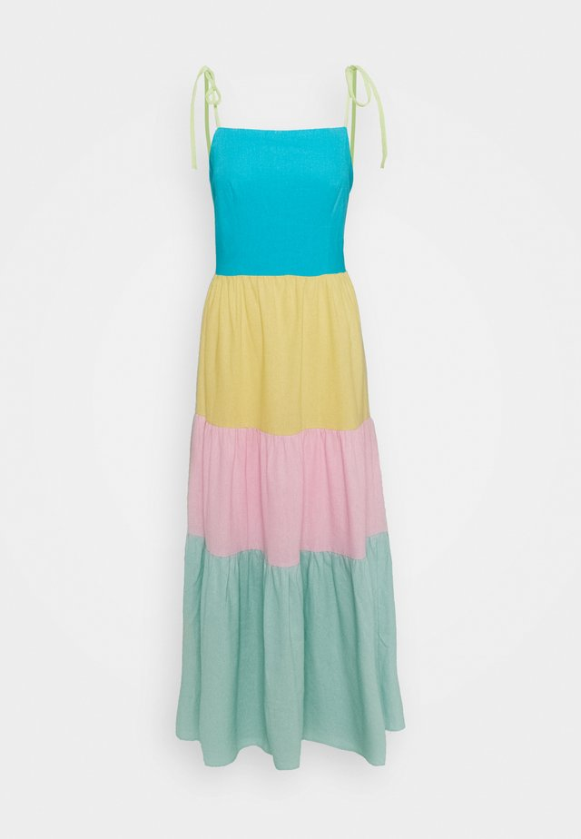 CYDNEY DRESS - Maxi-jurk - multicolor