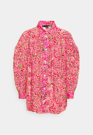 Hemdbluse - rosa