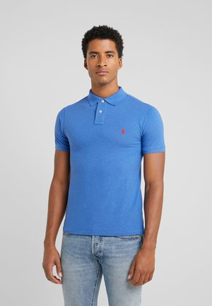SLIM FIT MODEL - Poloshirt - dockside blue
