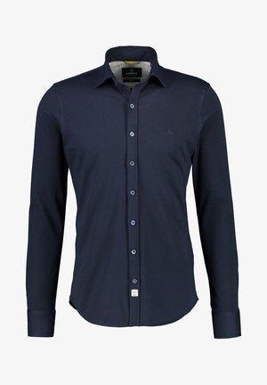 UNIFARBENES MIT  - Formal shirt - dark blue