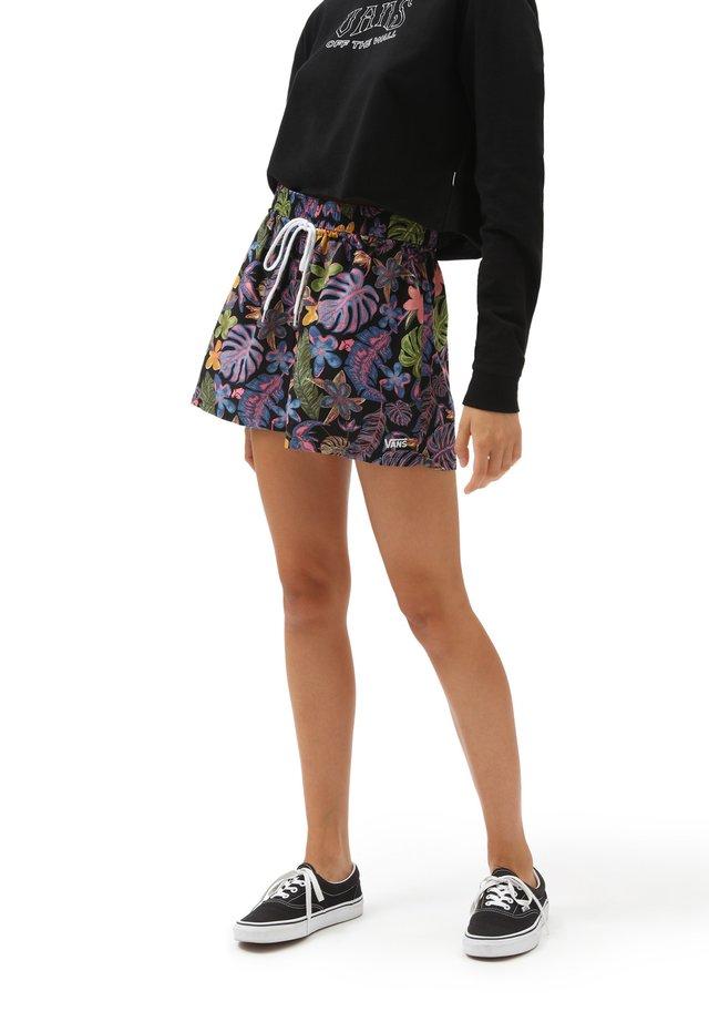 WM TROPICALI SHORT - Shorts - black