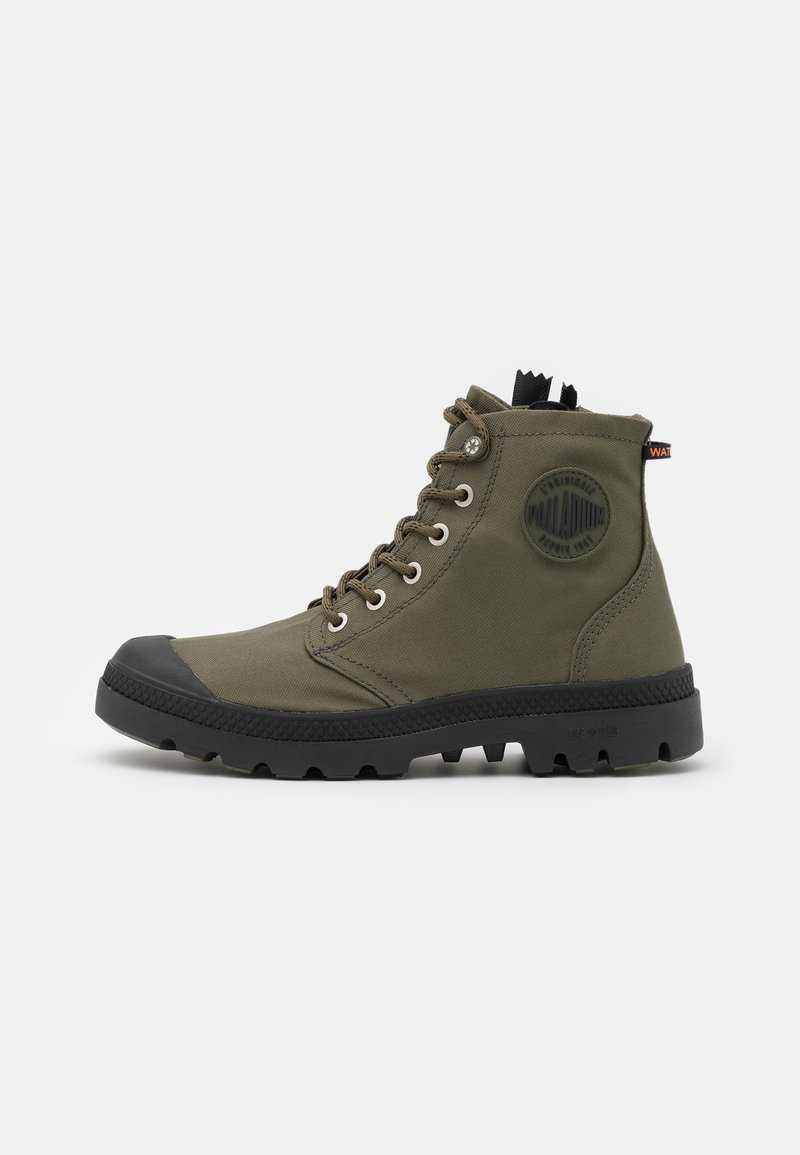 Palladium - PAMPA RCYCL LT WP UNISEX - Lace-up ankle boots - olive night